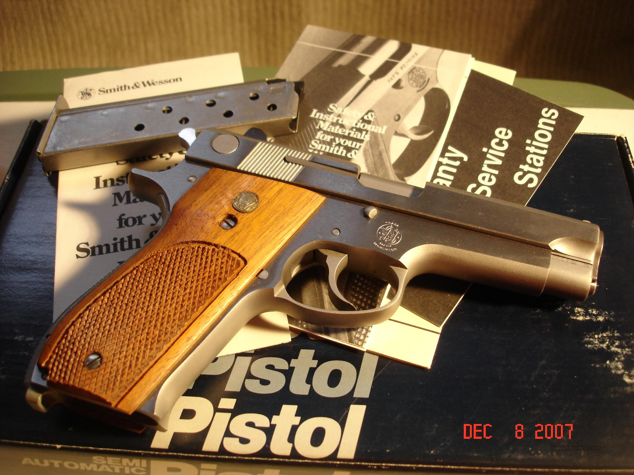 Smith & Wesson Model 639 Auto Stainless 9MM  Guns > Pistols > Smith & Wesson Revolvers > Full Frame Revolver