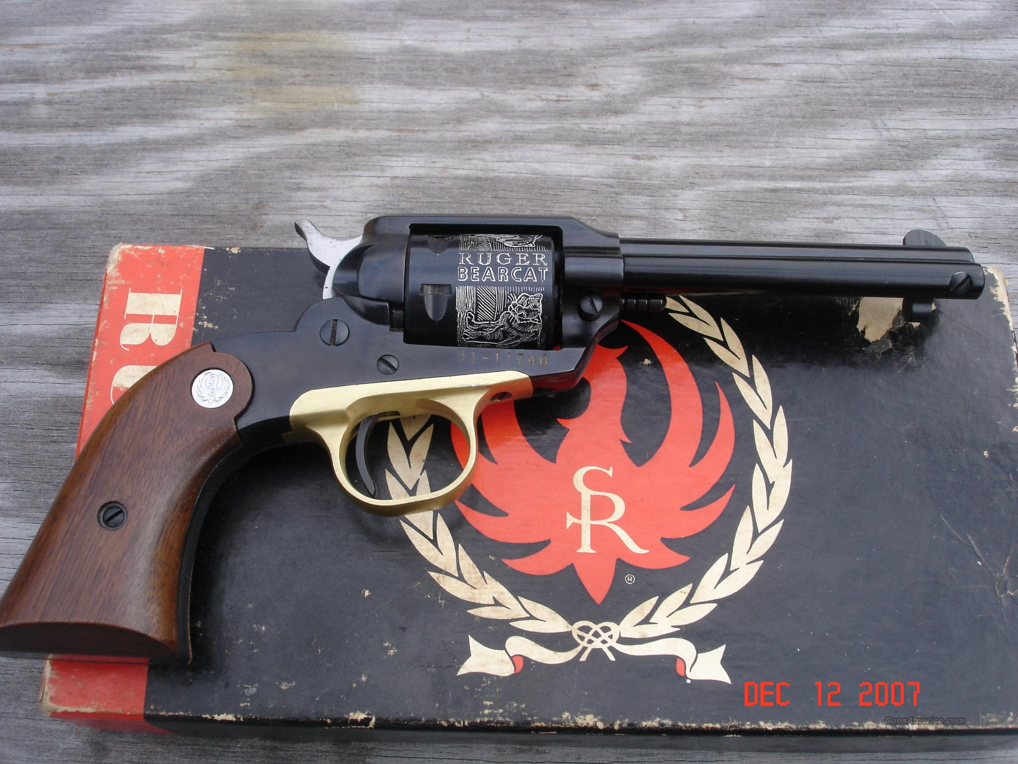 Ruger Bearcat 22 Cal.  Guns > Pistols > Ruger Single Action Revolvers > Single Six Type