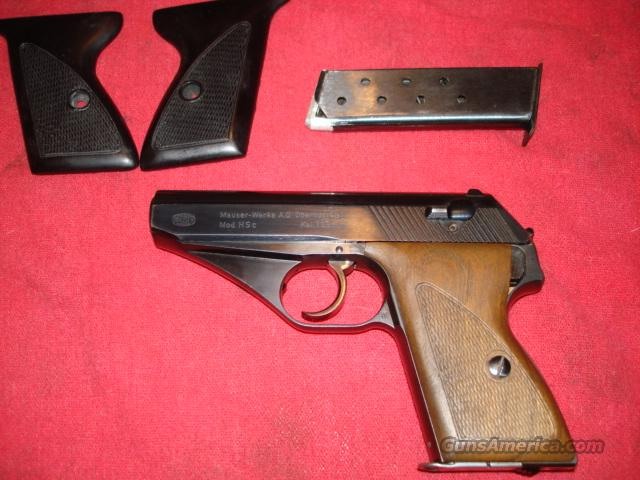 REDUCED! Early Nazi Army WWII Mauser HSC  Guns > Pistols > Mauser Pistols