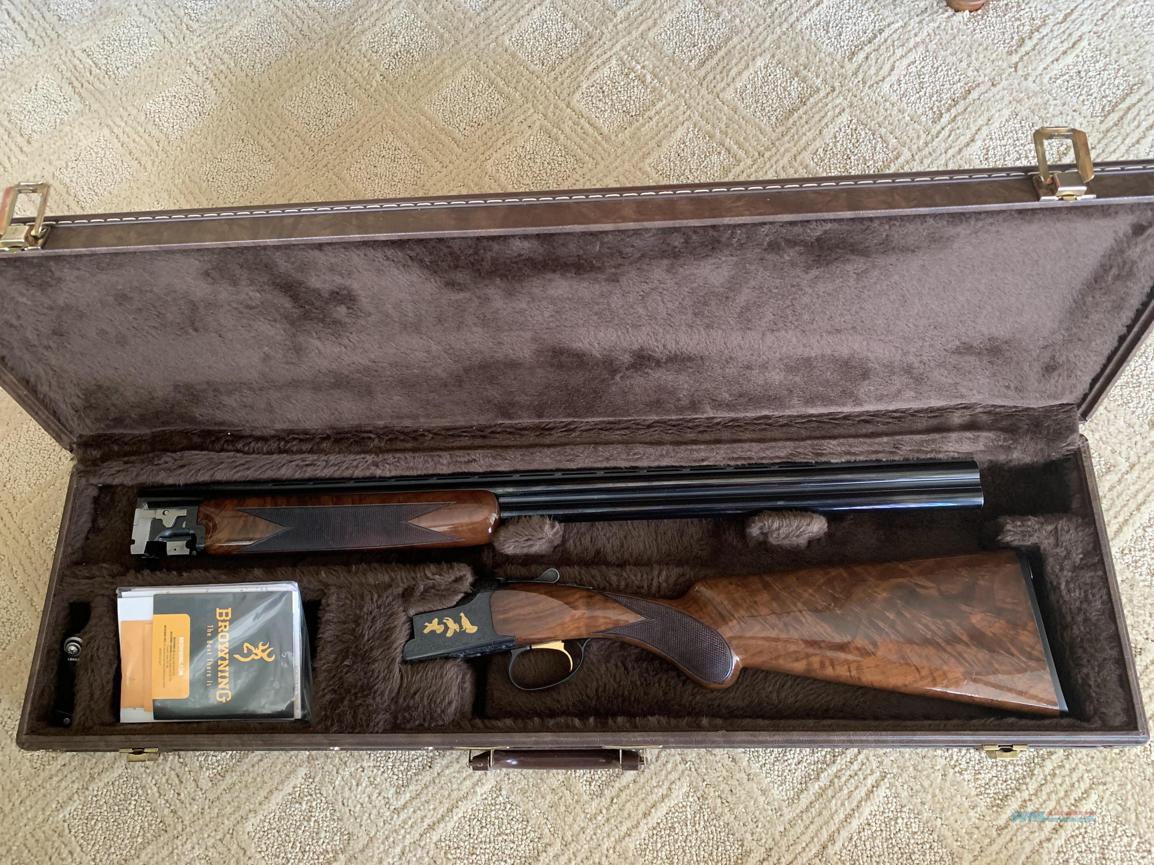 Browning Citori Lightning Grade VII - 20 ga.  Guns > Shotguns > Browning Shotguns > Over Unders > Citori > Hunting