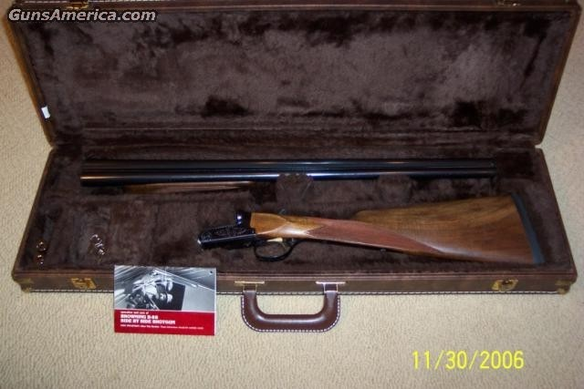 BSS 20 GAUGE SPORTER  Guns > Shotguns > Browning Shotguns
