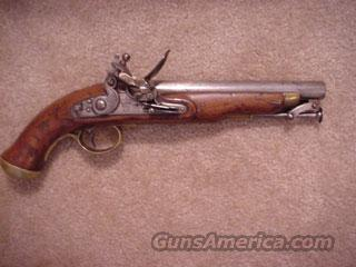 British New Land Pattern Military Flintlock Pistol of 1830  Guns > Pistols > Antique (Pre-1899) Pistols - Ctg. Misc.