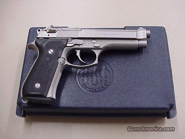 beretta 96 40S&W all stainless  Guns > Pistols > Bersa Pistols