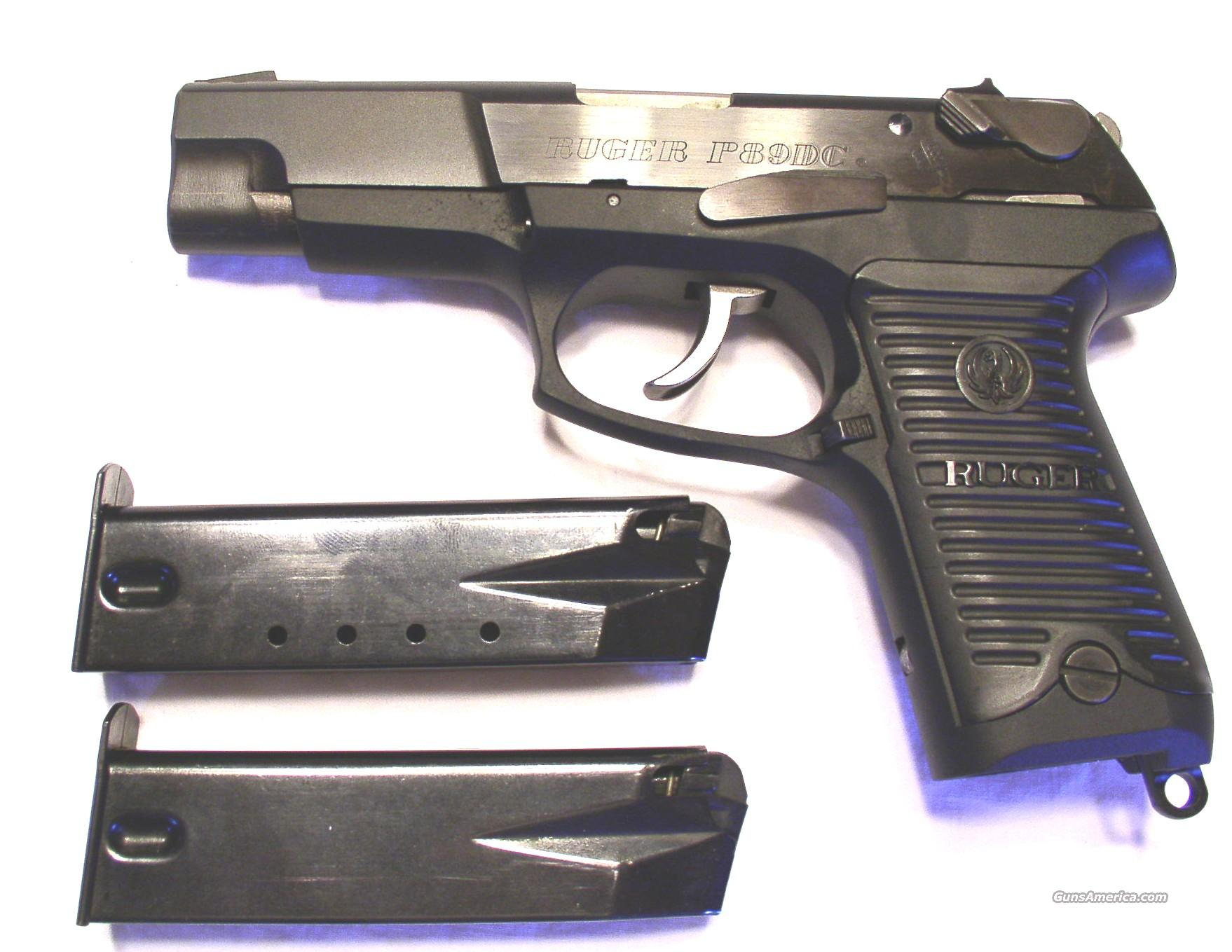 Ruger P89 DC  Guns > Pistols > Ruger Semi-Auto Pistols > Full Frame Autos