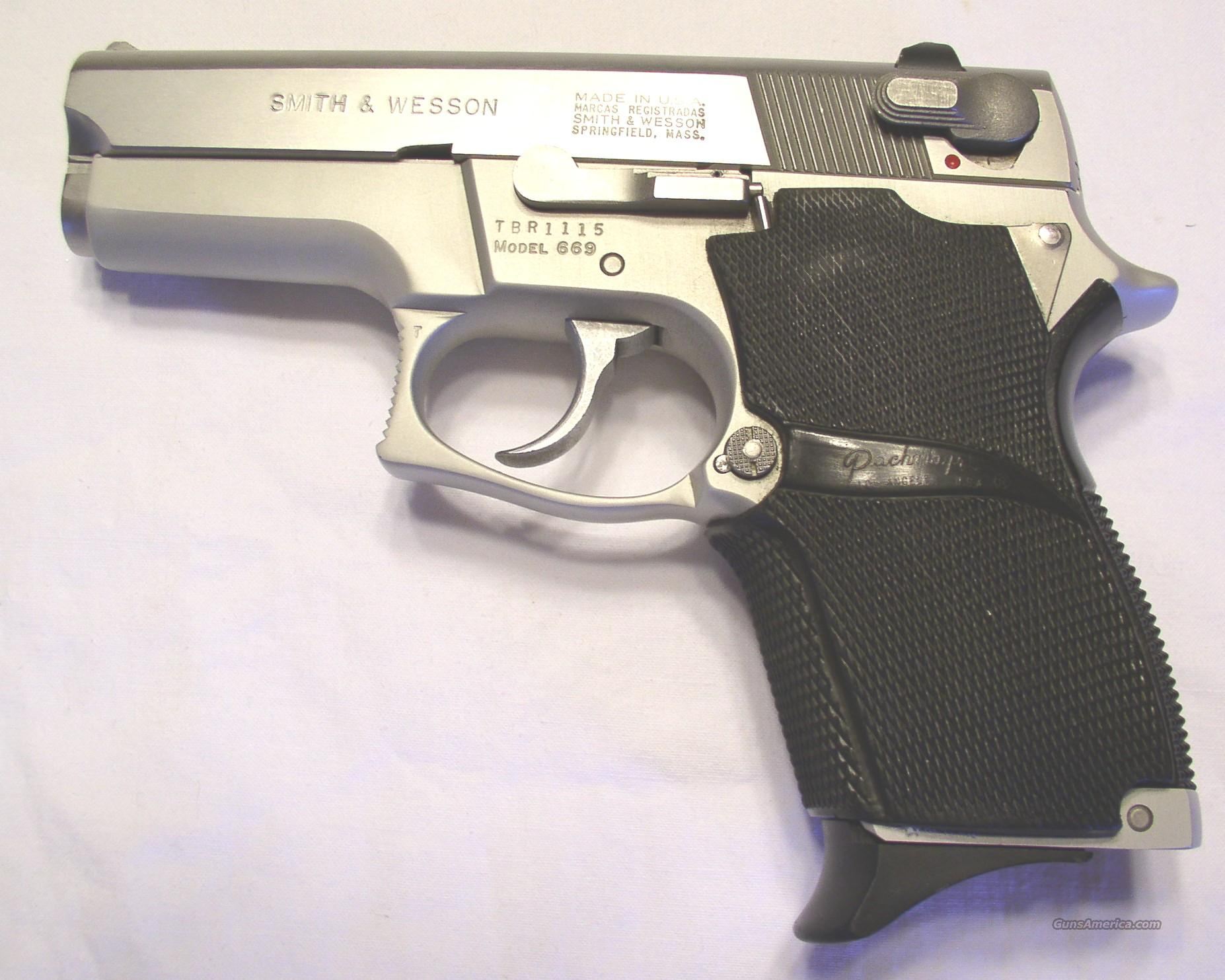 S&W Model 669  Guns > Pistols > Smith & Wesson Pistols - Autos > Alloy Frame