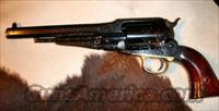 1858 Remington Conversion Highly Engraved  Guns > Pistols > Taylors & Co. Pistols > Ctg.