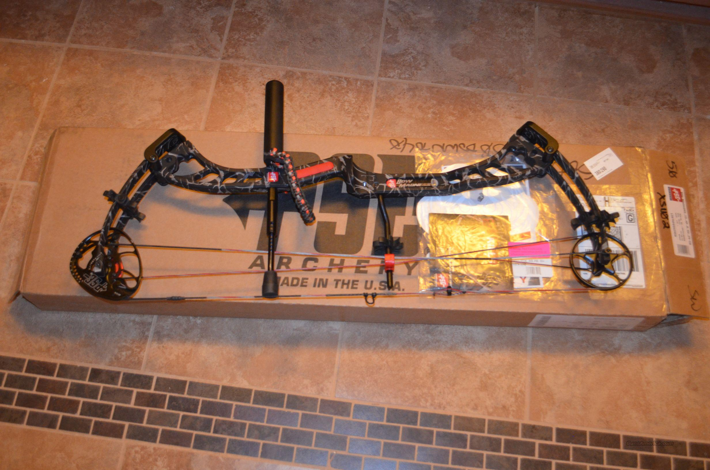 "2012 PSE Bow Madness XS MP 35 - 50 lb, 26 - 30""  Non-Guns > Archery > Bows > Compound"