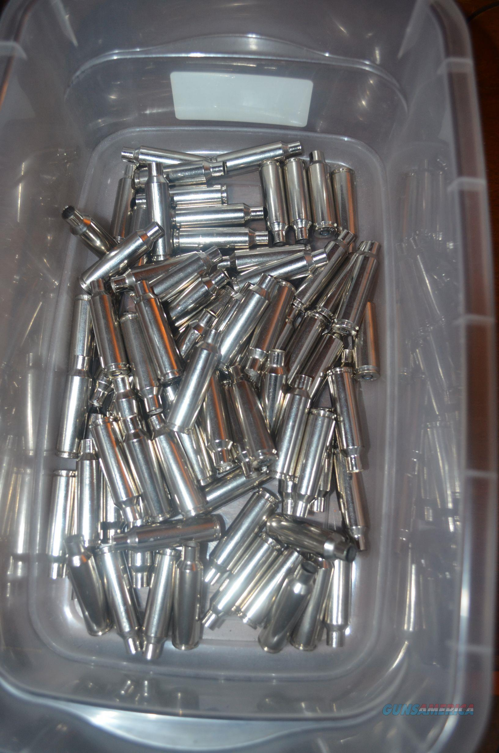 80 Pieces Federal 300 WSM Primed Nickel Brass  Non-Guns > Reloading > Components > Brass