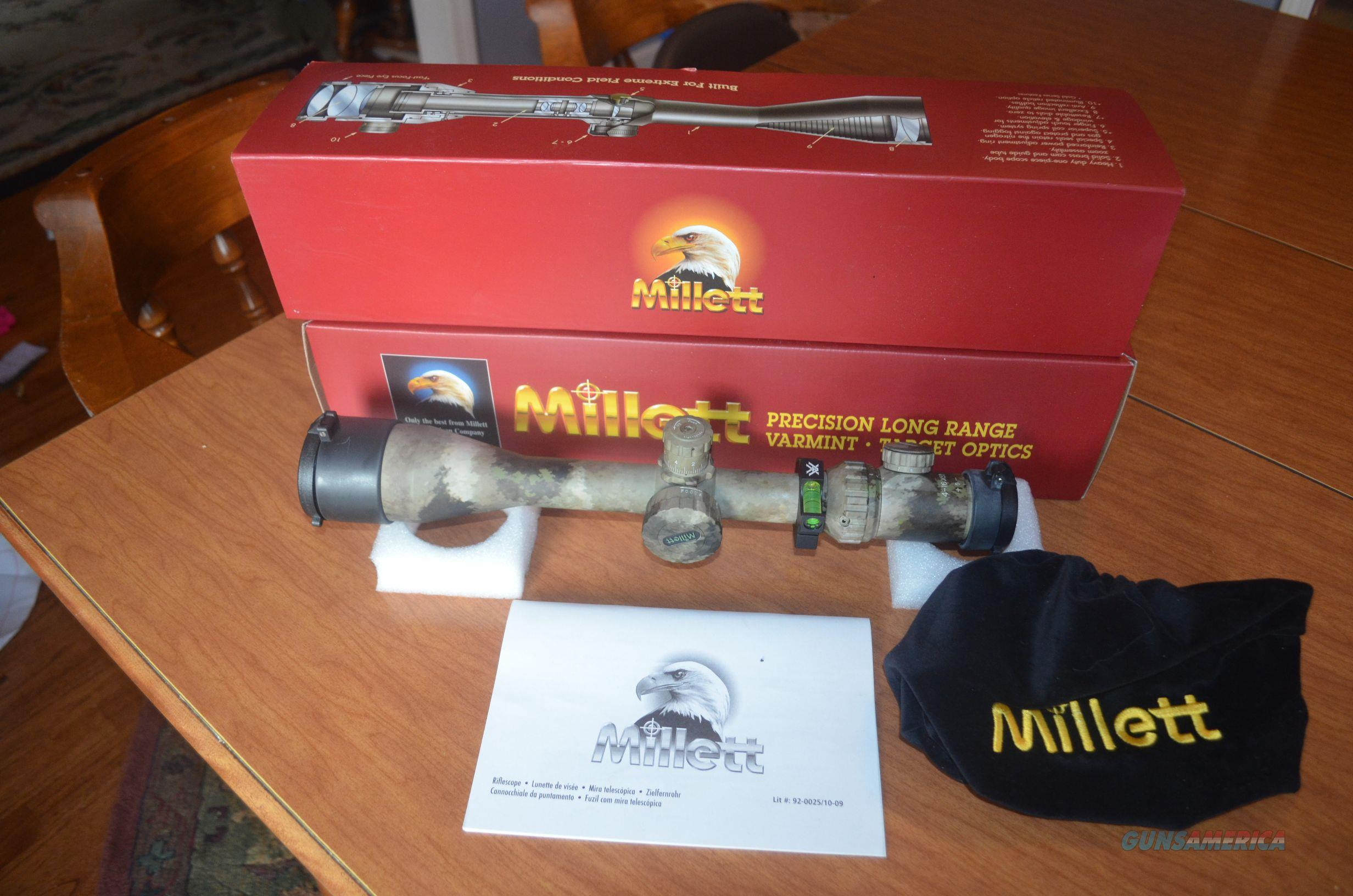 Millett 4-16x 50mm TRS-1 30mm ATCS Scope  Non-Guns > Scopes/Mounts/Rings & Optics > Rifle Scopes > Variable Focal Length