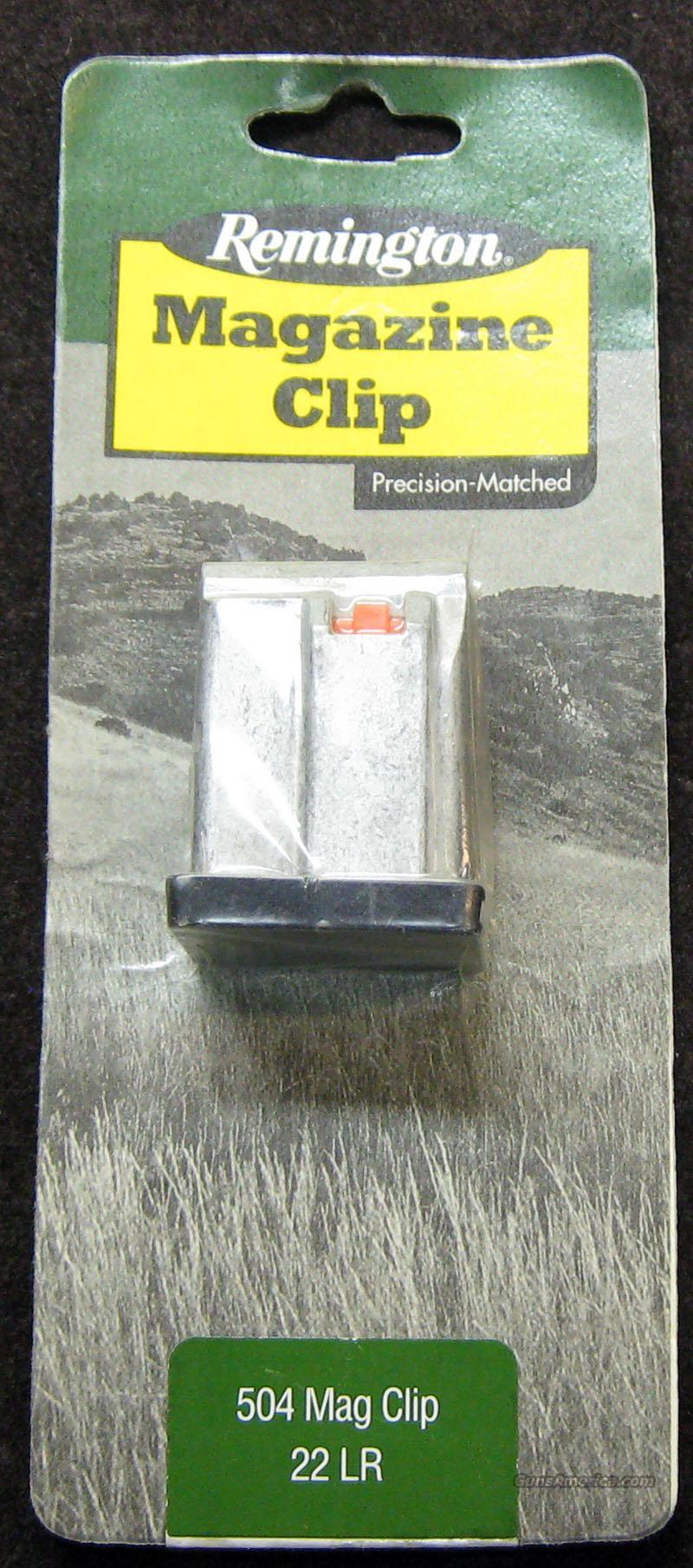 Ps90 For Sale >> Remington 504 Mag Clip .22lr for sale