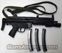 H&K MP5-A3 Sub-Machine gun  Guns > Rifles > Class 3 Rifles > Class 3 Dealer/Law Enf. Only