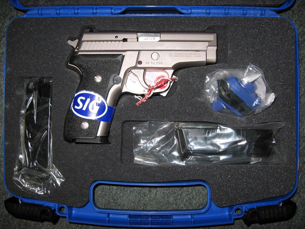 Sigarms P229 Factory Nickel  40S&W  Guns > Pistols > Sig - Sauer/Sigarms Pistols > P229