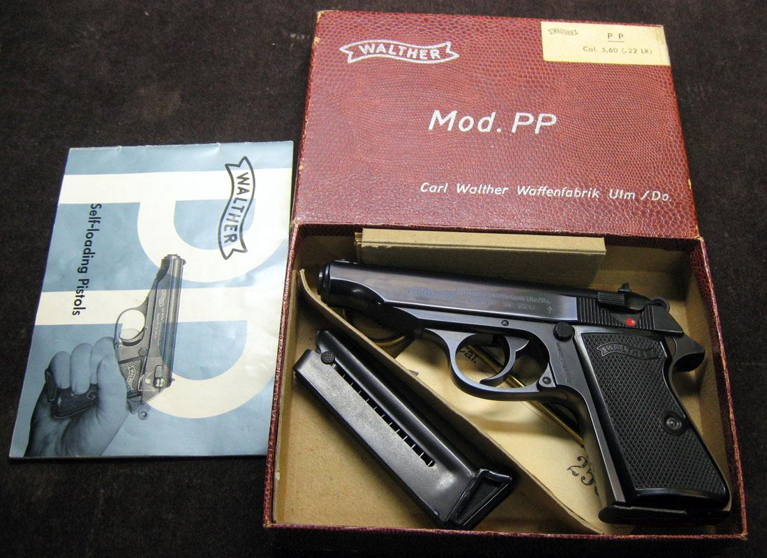 Walther PP .22LR  Guns > Pistols > Walther Pistols > Post WWII > PPK Series