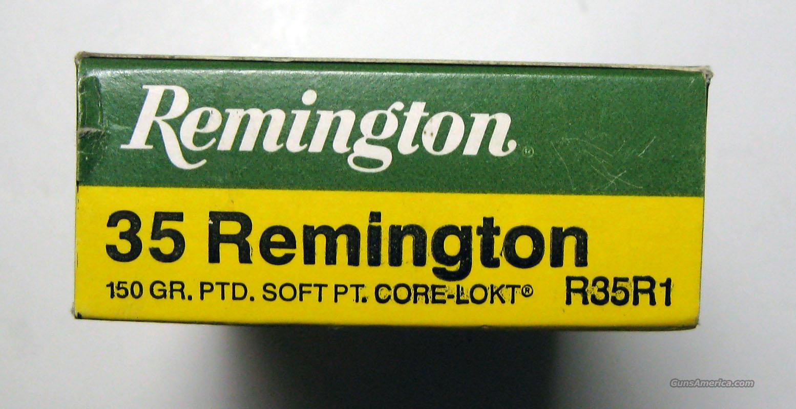 100rds. Remington 35 Remington 5boxes  Non-Guns > Ammunition
