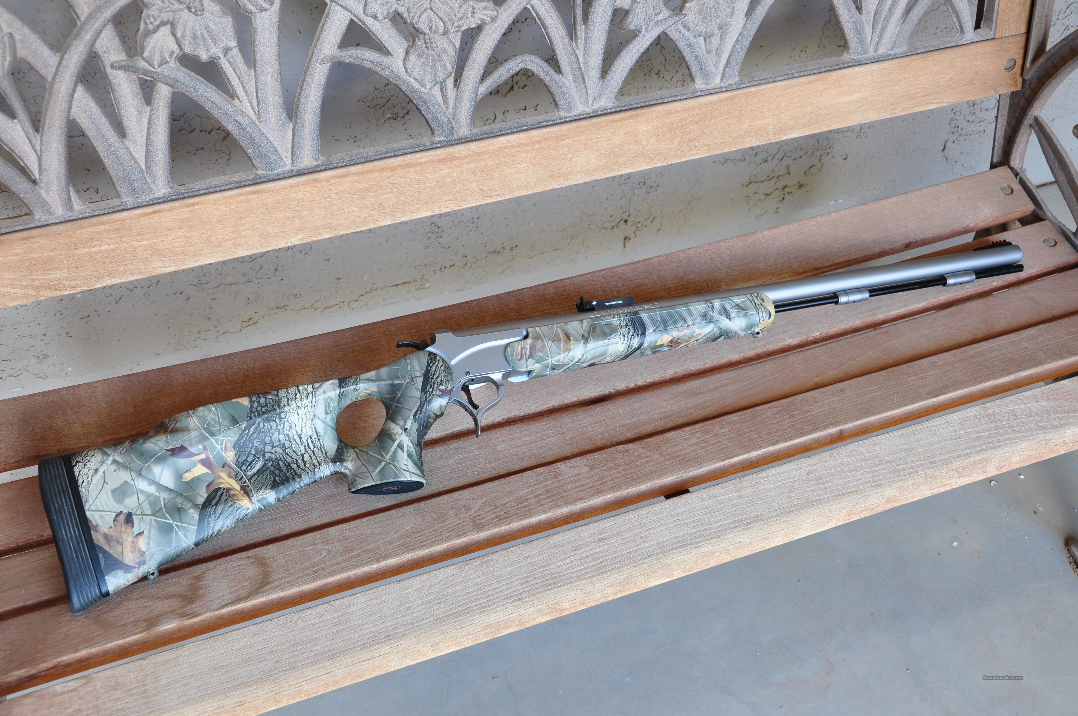 THOMPSON CENTER ENCORE, 209X50, REALTREE SS, 26IN  Guns > Rifles > Thompson Center Muzzleloaders > Inline Style