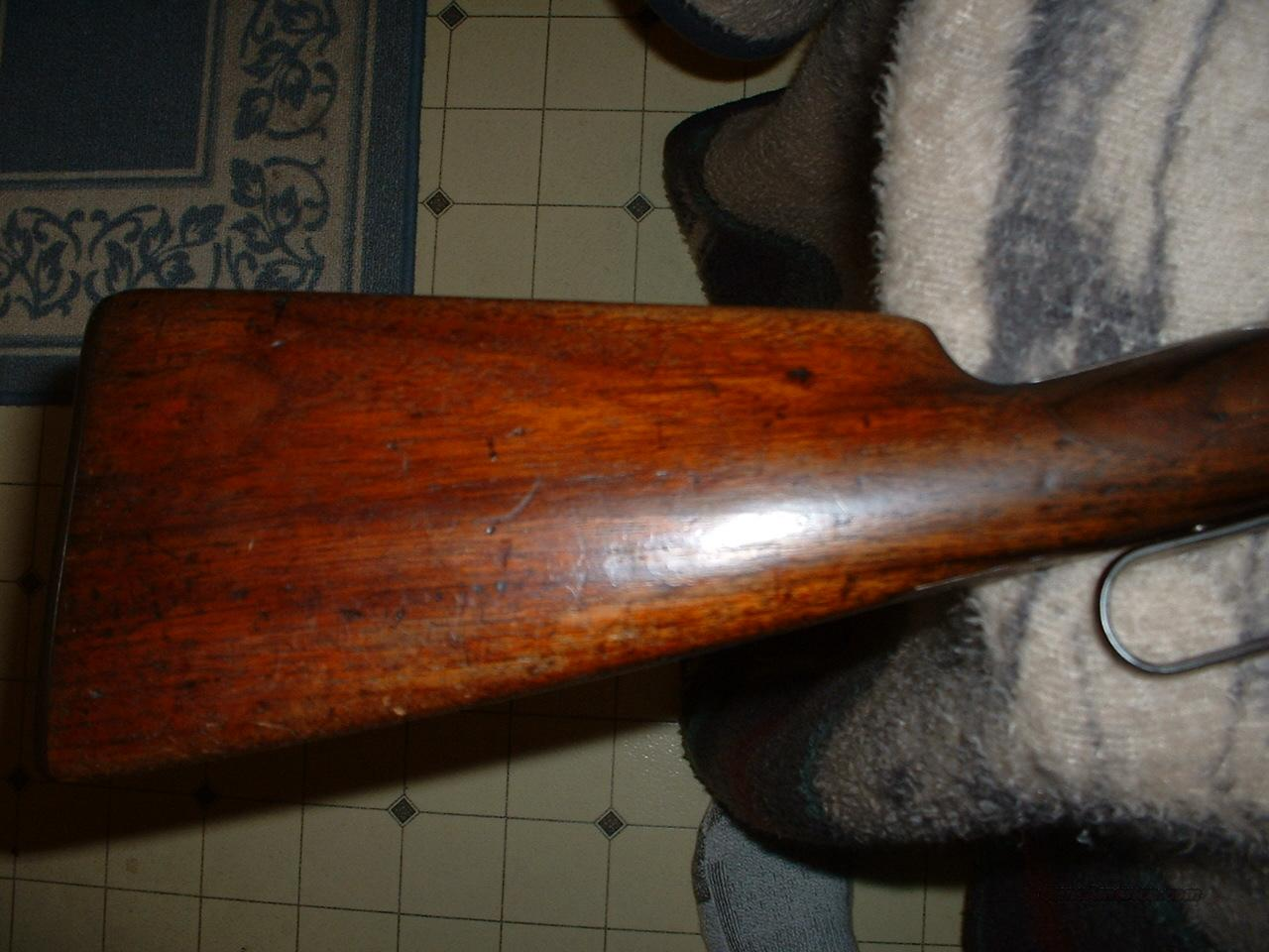 "Winchester 1886 Special Order 45/70..22""   Guns > Rifles > Winchester Rifles - Modern Lever > Other Lever > Pre-64"