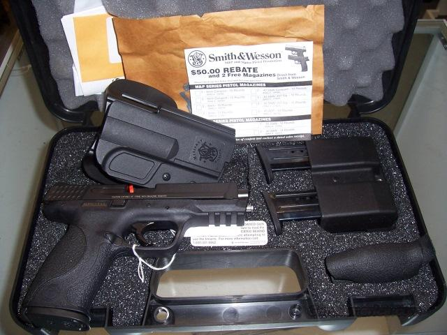 Smith & Wesson M&P 9mm with Carry Kit  Guns > Pistols > Smith & Wesson Pistols - Autos > Polymer Frame
