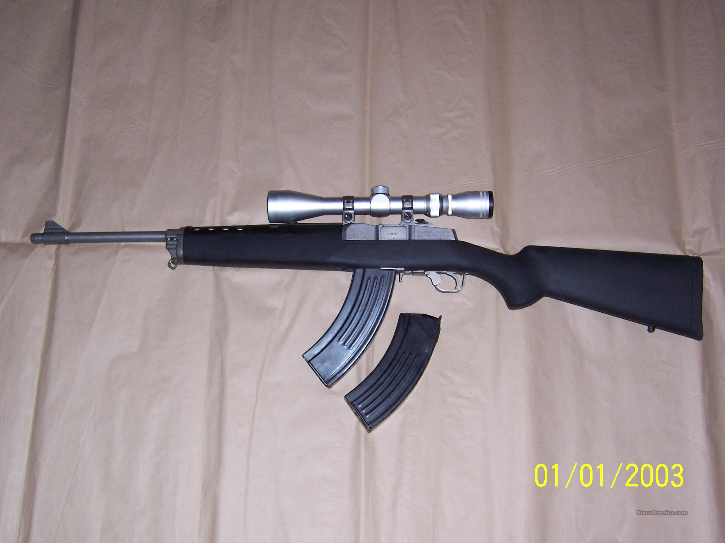 Ruger Mini 30, 7.62x39 REDUCED  Guns > Rifles > Ruger Rifles > Mini-14 Type