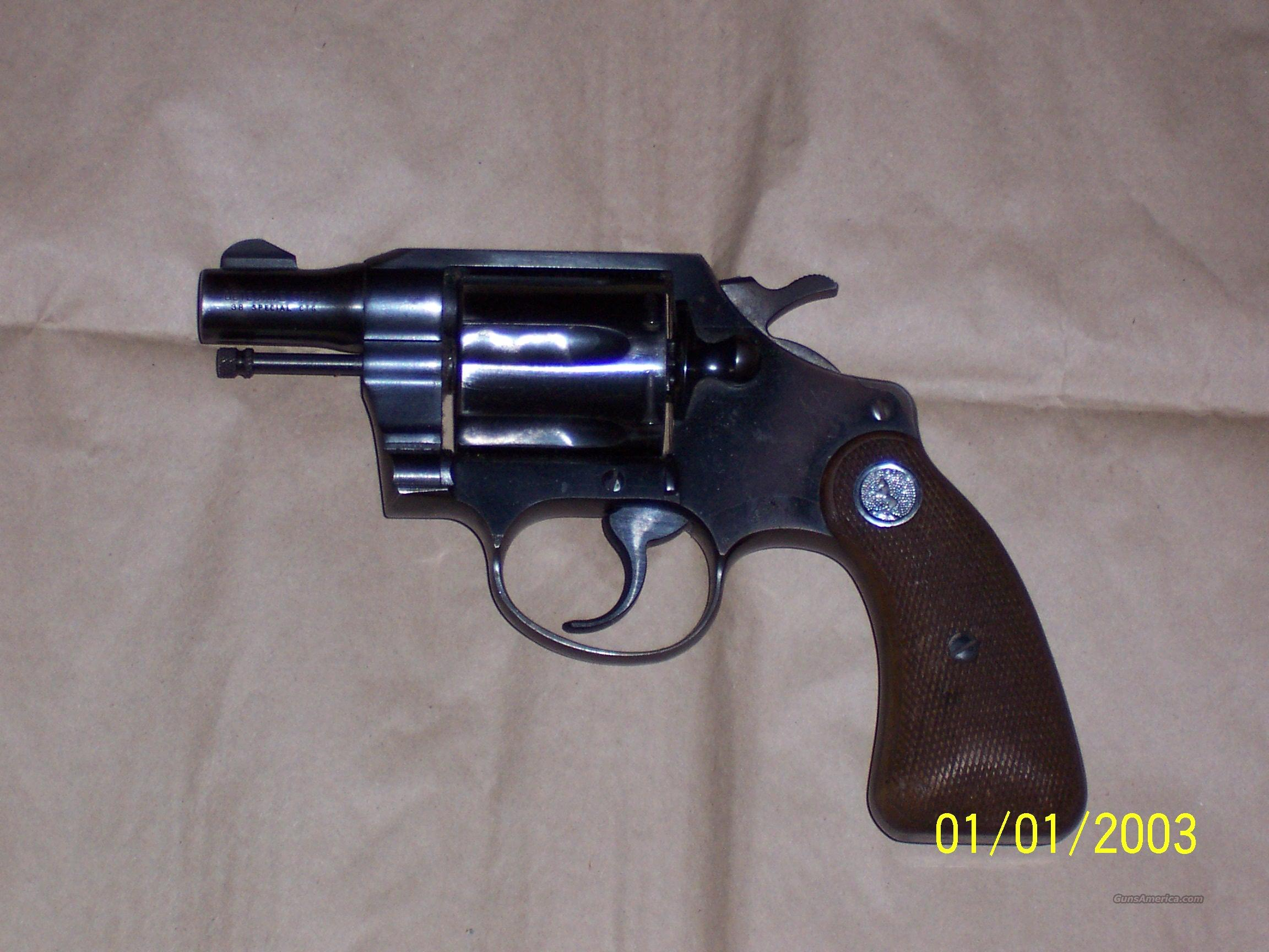 Colt Detective Special Reduced  Guns > Pistols > Colt Double Action Revolvers- Modern