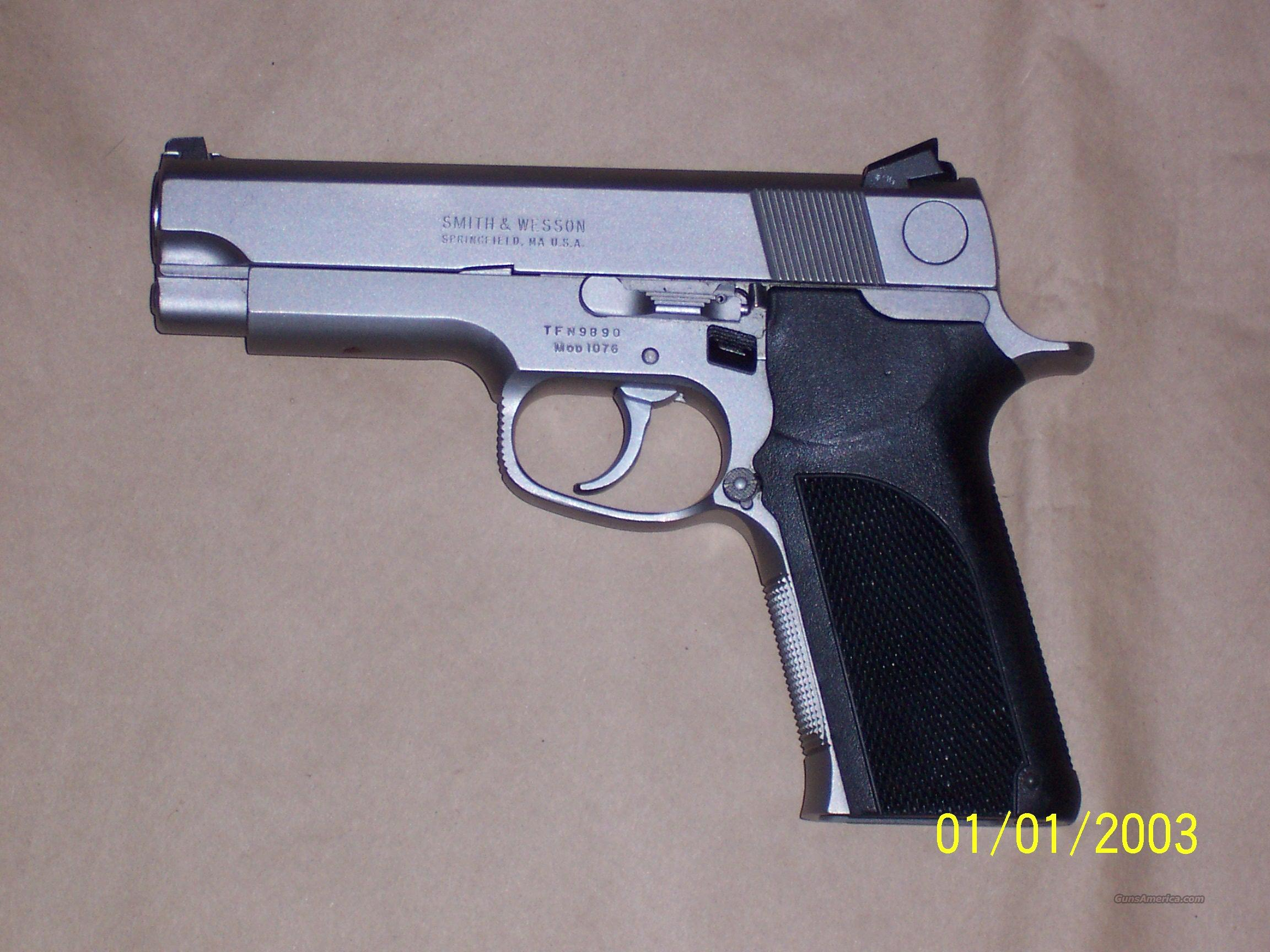 S&W Model 1076 10mm Guns > Pistols > Smith & Wesson Pistols - Autos > Steel