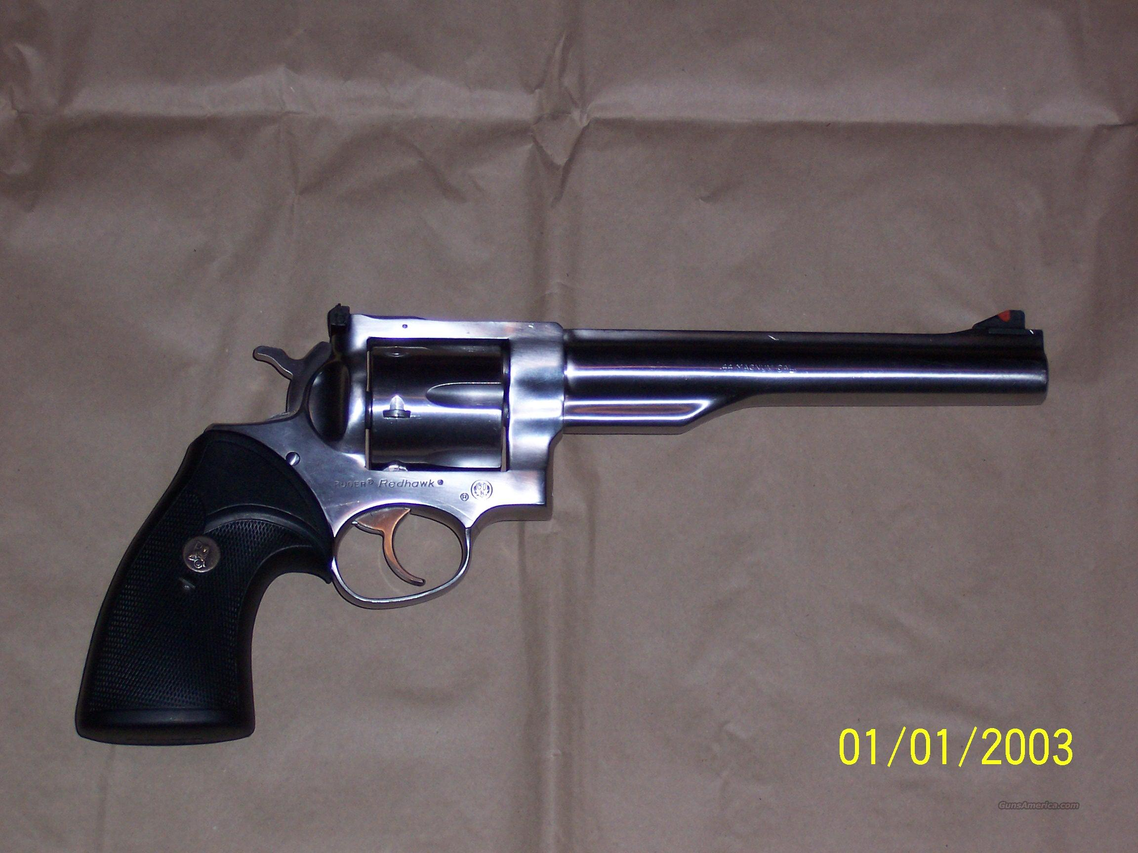 Ruger Redhawk Stainless .44 Magnum REDUCED  Guns > Pistols > Ruger Double Action Revolver > Redhawk Type