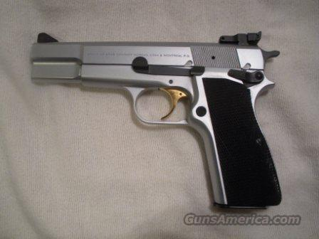 Browning Hi Power Stainless  Guns > Pistols > Browning Pistols > Hi Power
