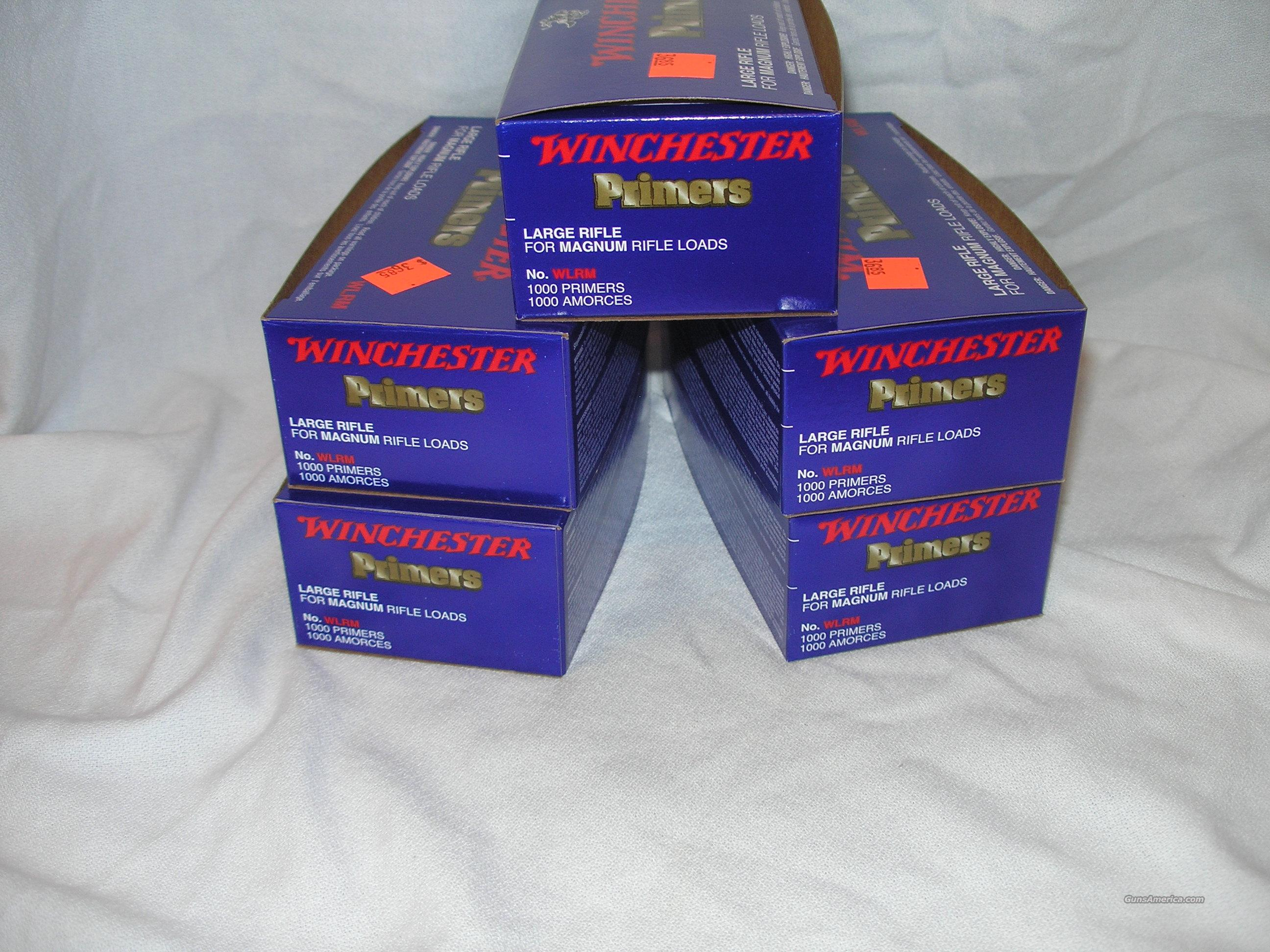Winchester Large Rifle Magnum Primers  Non-Guns > Reloading > Components > Other