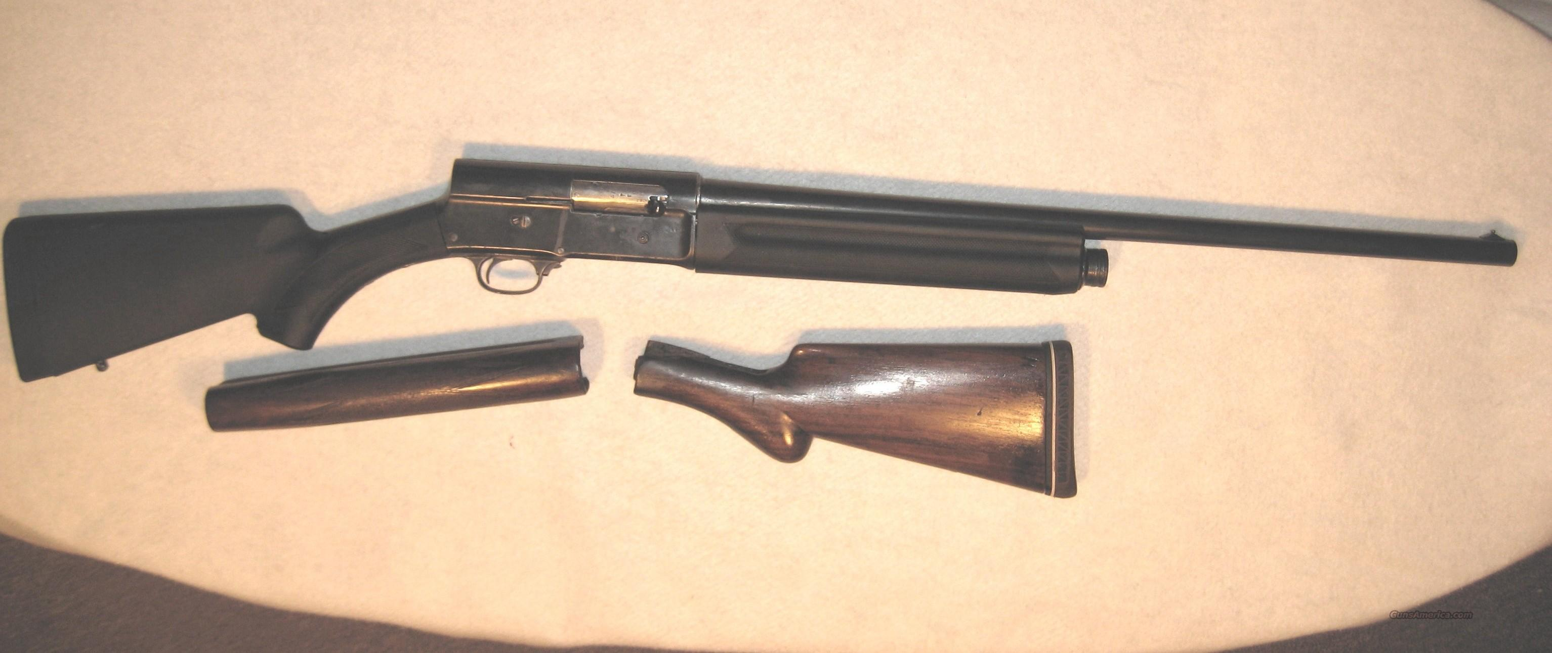 Browning A5 12GA Pre 1939  Guns > Shotguns > Browning Shotguns > Autoloaders > Hunting