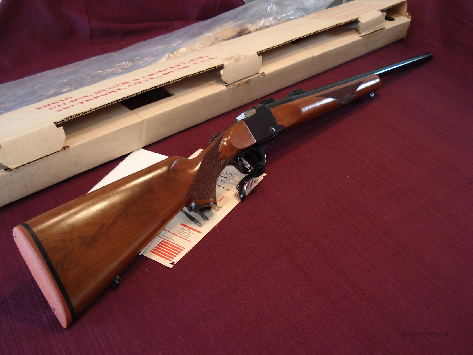 Ruger No. 1 V  7MM  With Box  Guns > Rifles > Ruger Rifles > #1 Type