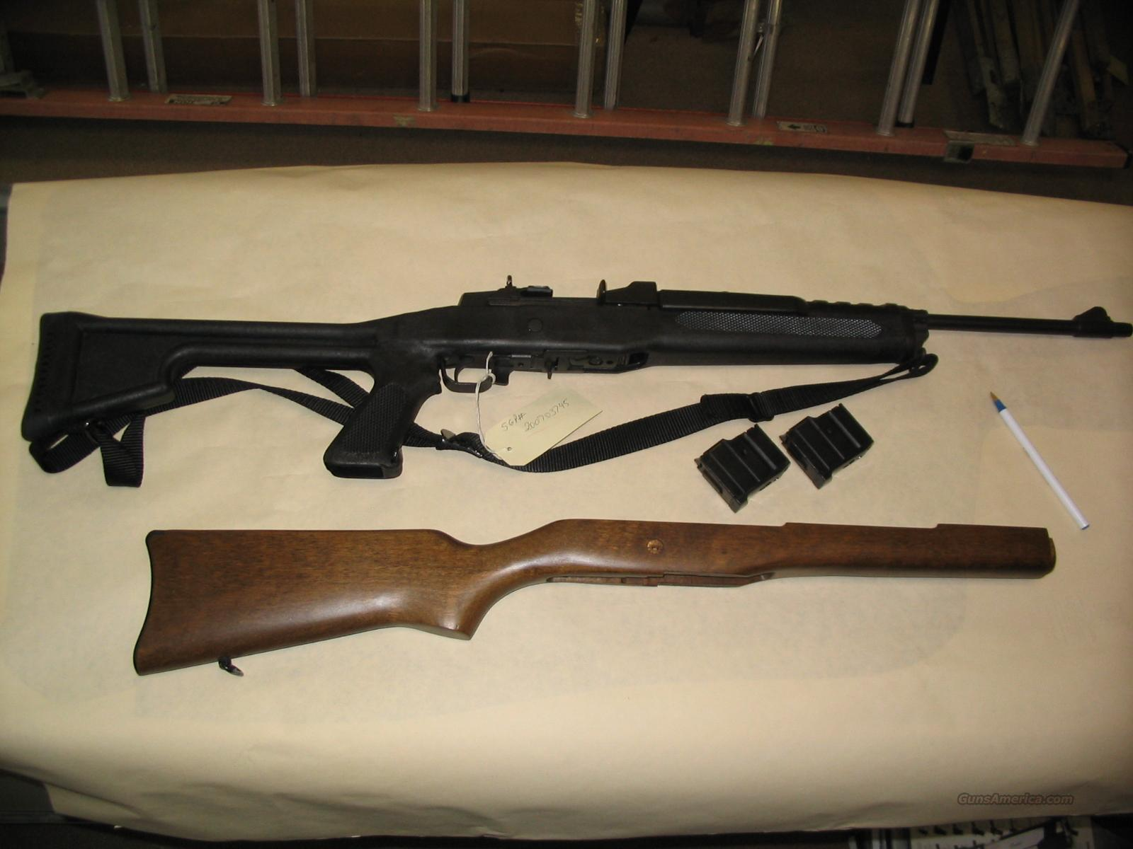 Ruger Mini 14 Ranch Rifle 223 Like New!  Guns > Rifles > Ruger Rifles > Mini-14 Type