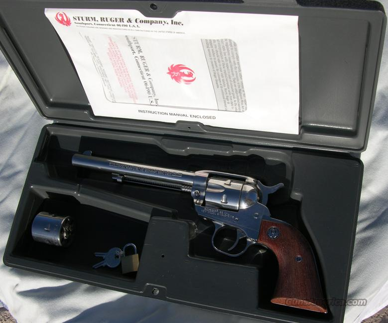 RUGER 22 CAL NM SINGLE SIX CONVERTIBLE  Guns > Pistols > Ruger Single Action Revolvers > Single Six Type