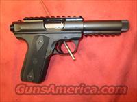 "NEW RUGER 22/45 4.5""10RD BL PIC/RL TB 10149  Guns > Pistols > Ruger Semi-Auto Pistols > Mark I & II Family"