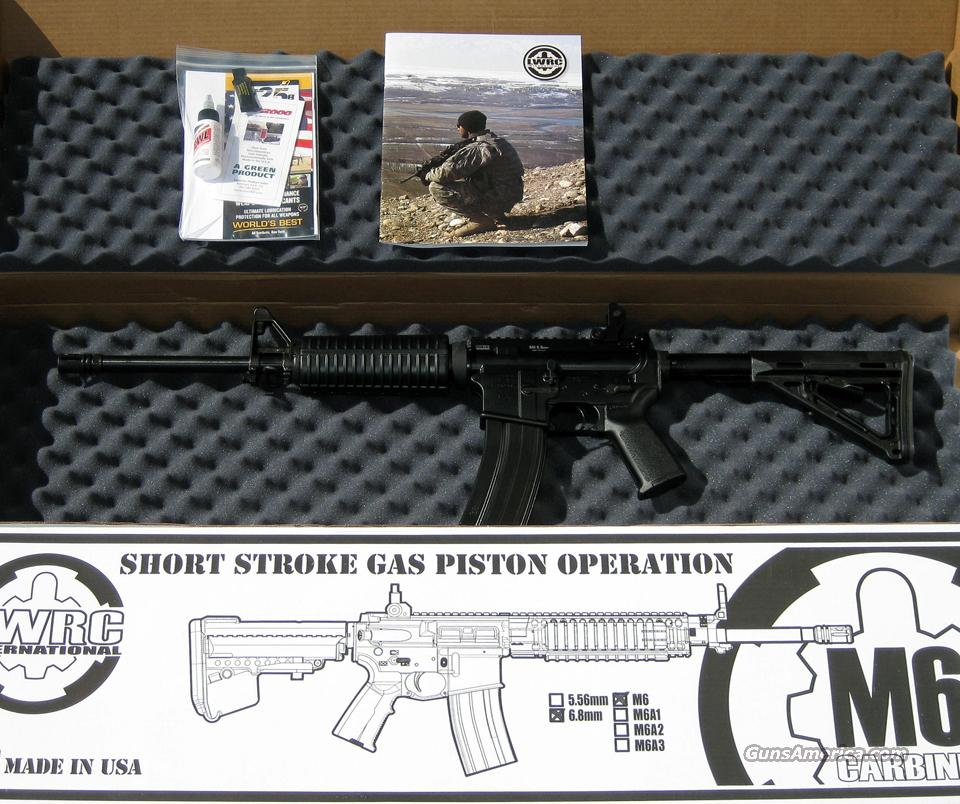 LWRC M6 Carbine, 6.8 SPC  Guns > Rifles > AR-15 Rifles - Small Manufacturers > Complete Rifle