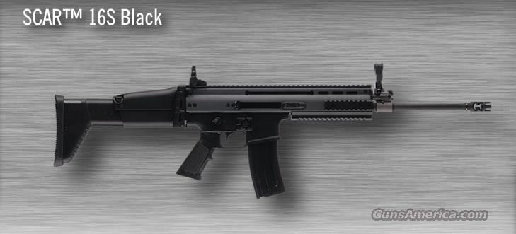 FNH SCAR 16S Black Rifle  Guns > Rifles > FNH - Fabrique Nationale (FN) Rifles > Semi-auto > Other