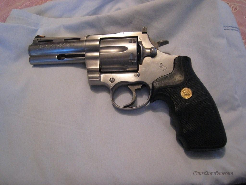 "Excellent Rare Colt Anaconda 4""  Guns > Pistols > Colt Double Action Revolvers- Modern"