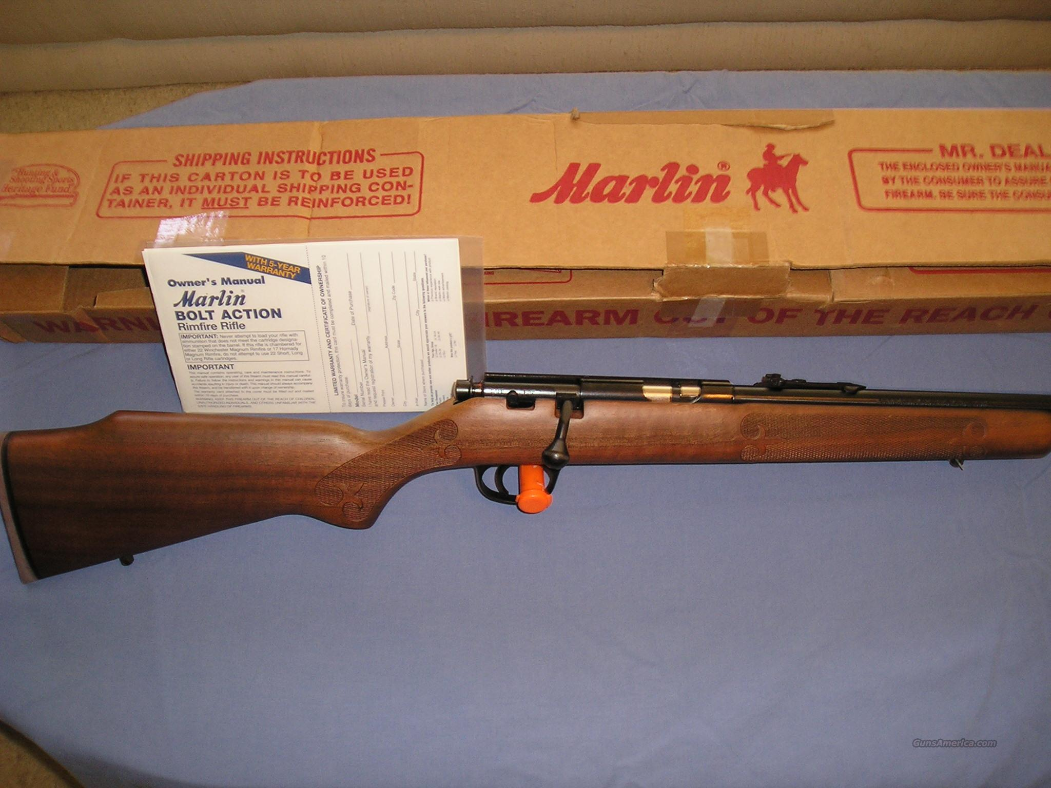 MARLIN MODEL 983 22 MAG  Guns > Rifles > Marlin Rifles > Modern > Bolt/Pump