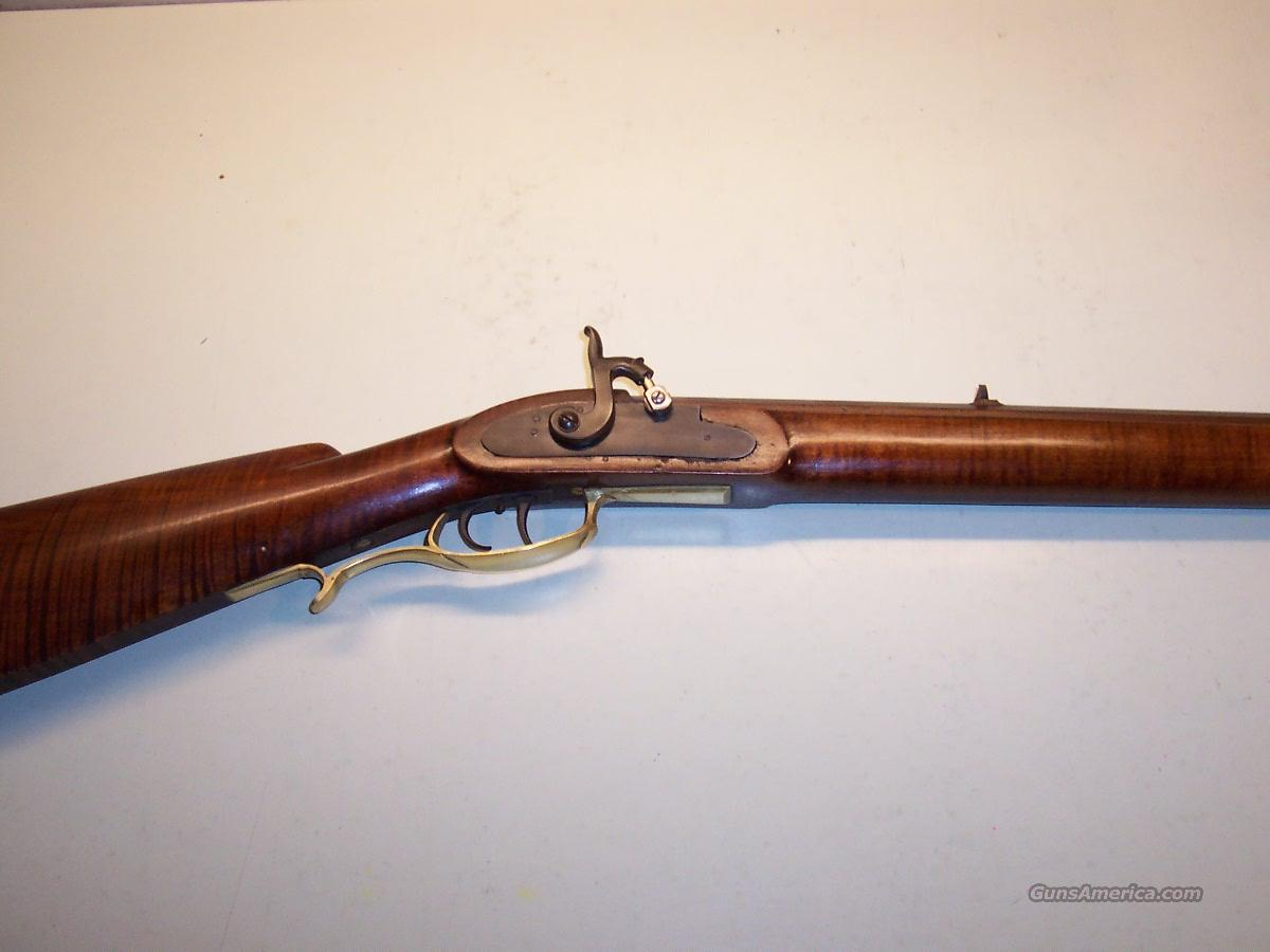40 Cal Antique Target Rifle Half Stock In The For Sale