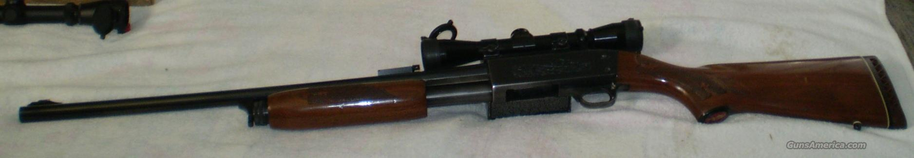 Ithaca Model 37 Feather light Hastings Rifled slug barrel w/scope  Guns > Shotguns > Ithaca Shotguns > Pump