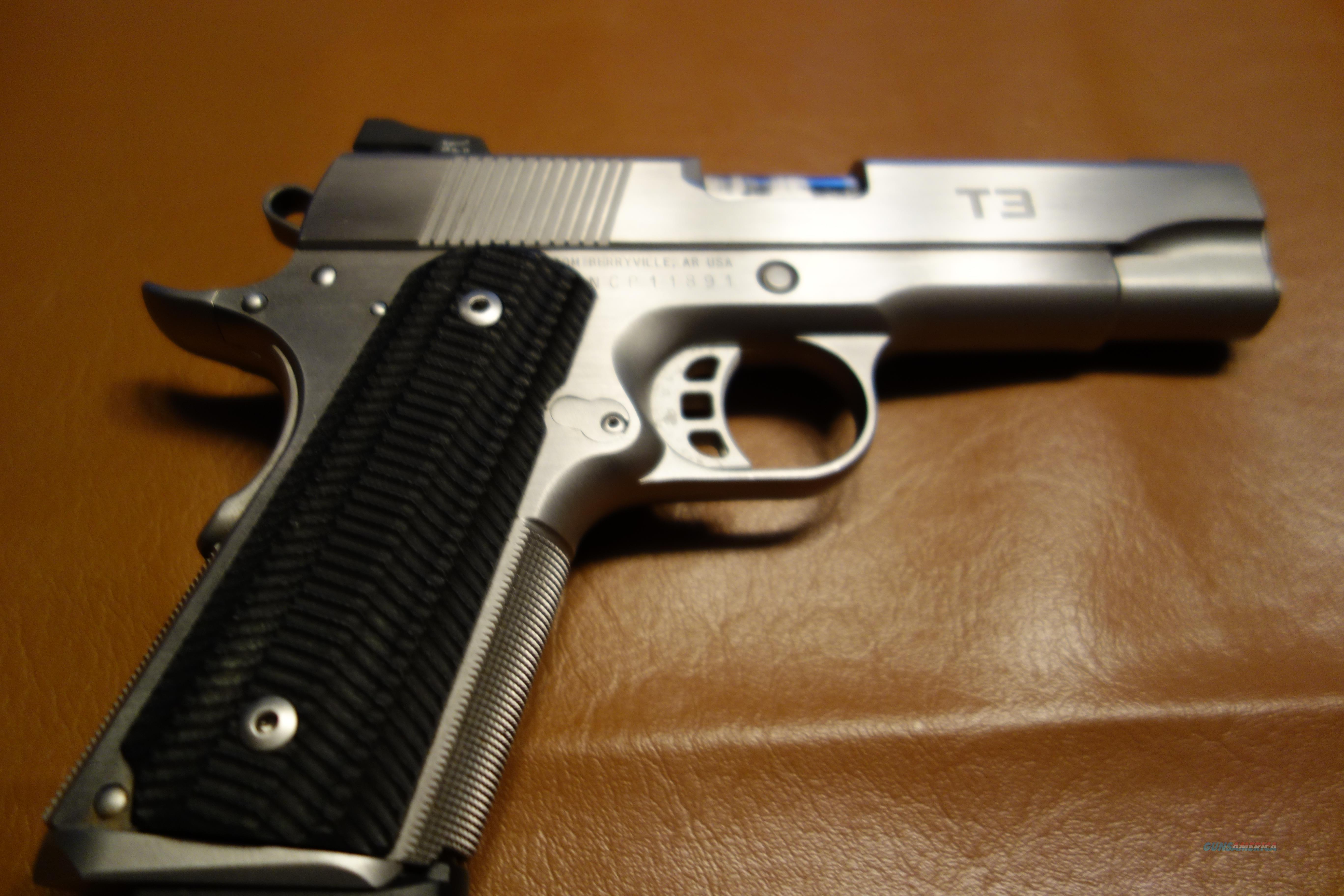 Nighthawk T3 Stainless  Guns > Pistols > 1911 Pistol Copies (non-Colt)