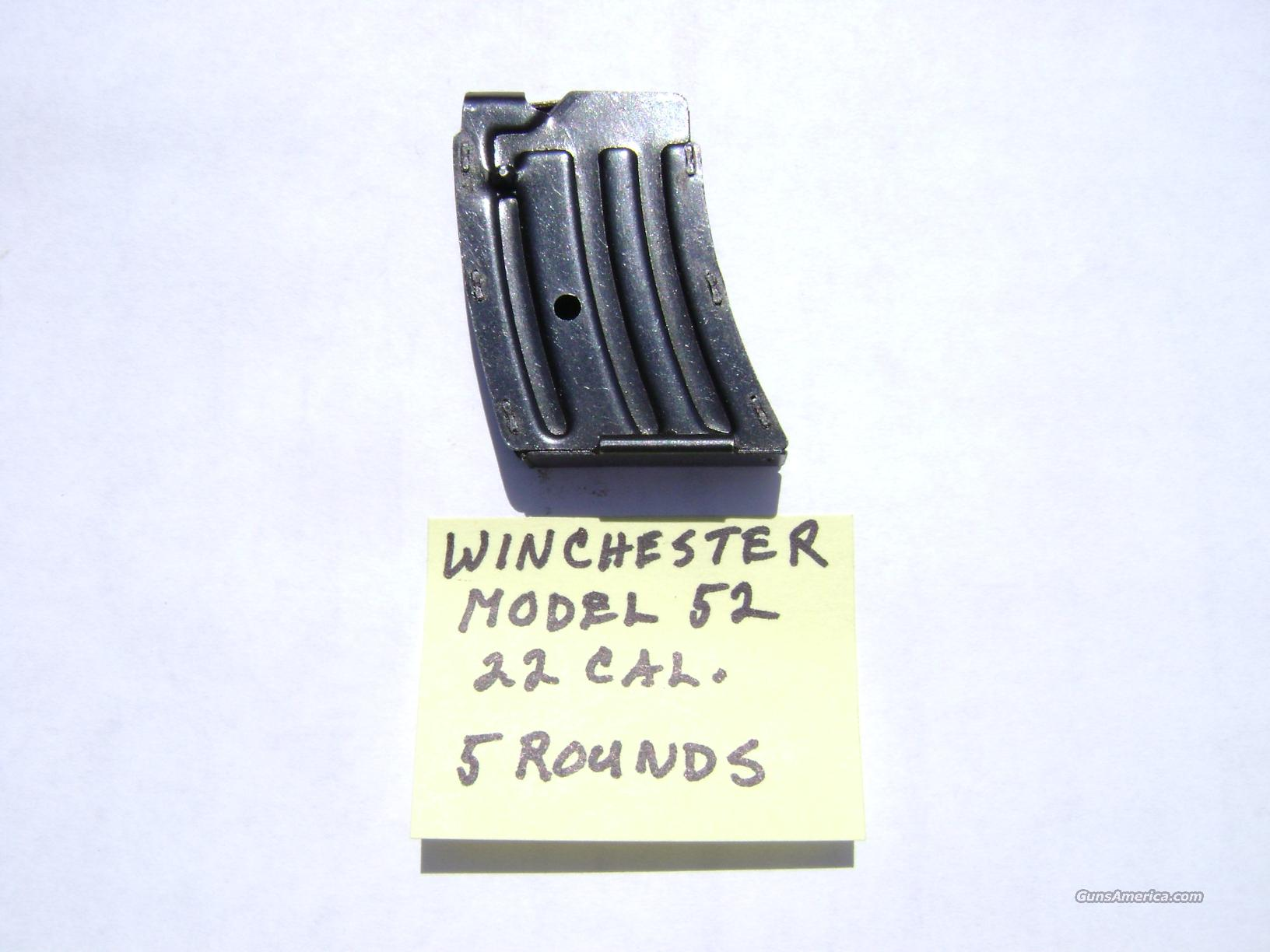 Winchester Model 52 Series Magazines  Non-Guns > Magazines & Clips > Rifle Magazines > Other