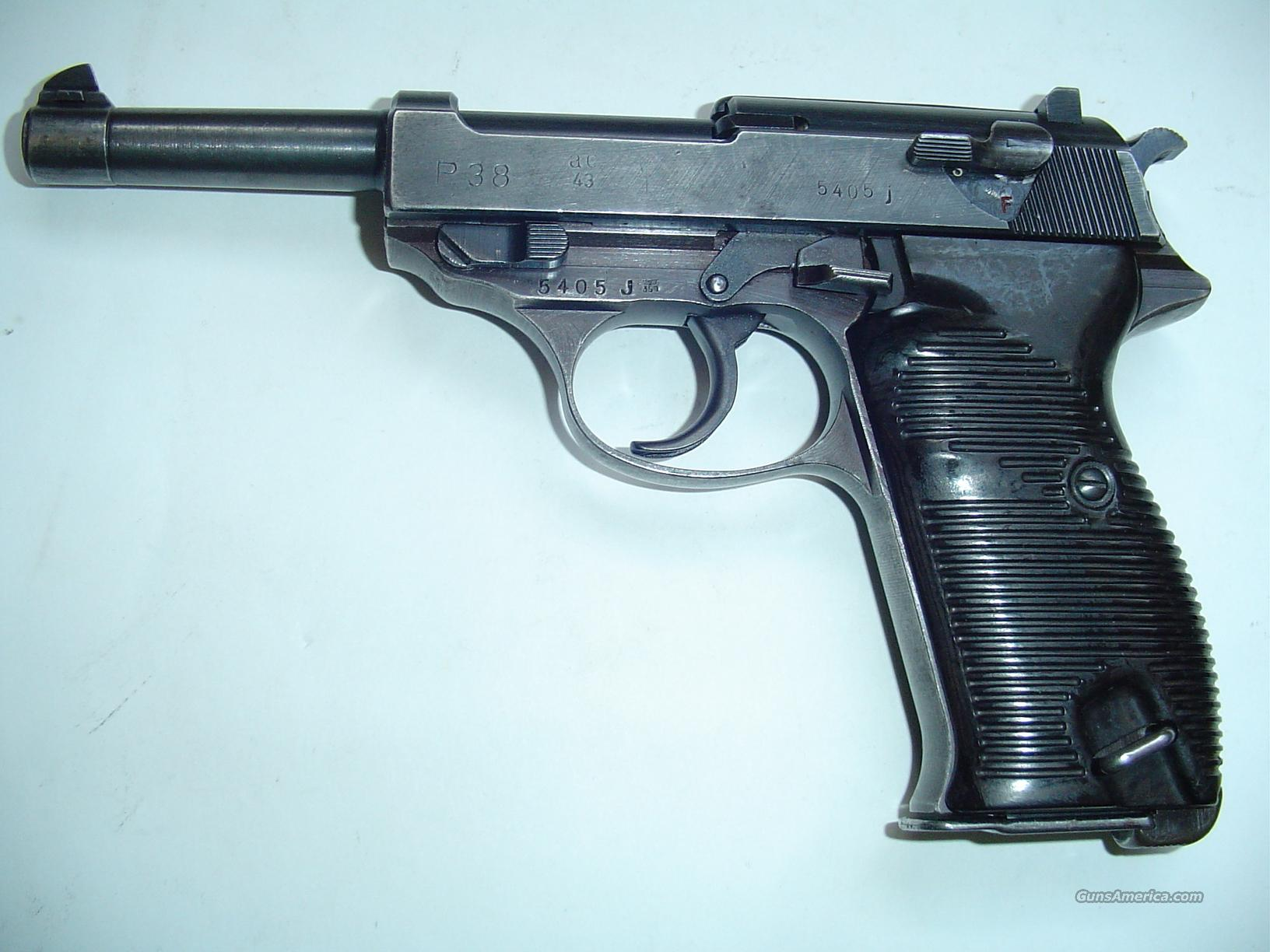 ALL MATCHING AC-43, 1 CLIP-- WALTHER!!  Guns > Pistols > Walther Pistols > Pre-1945 > P-38