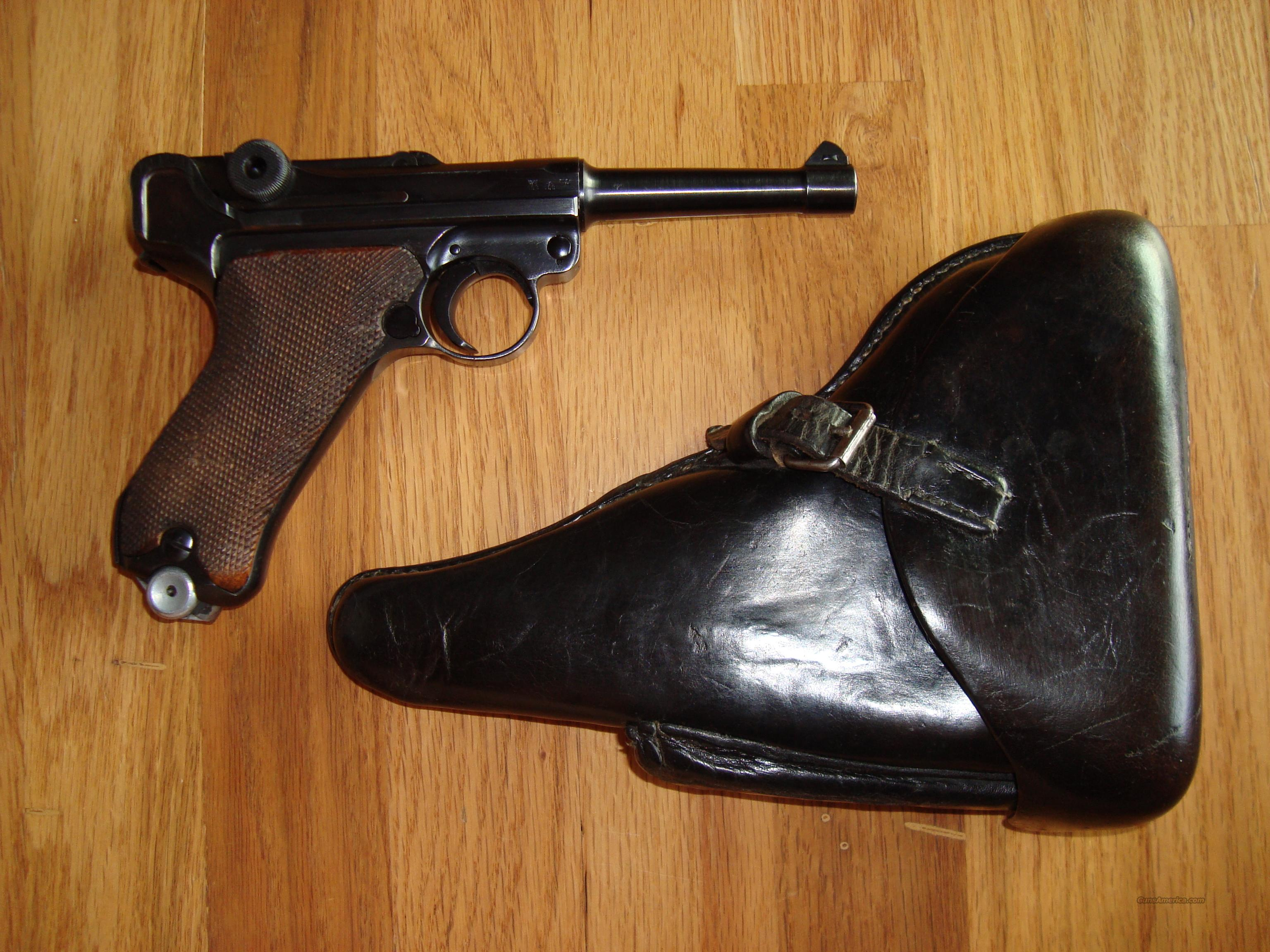 BYF 41 Luger with Holster - all matching numbers, 97%+  Guns > Pistols > Luger Pistols