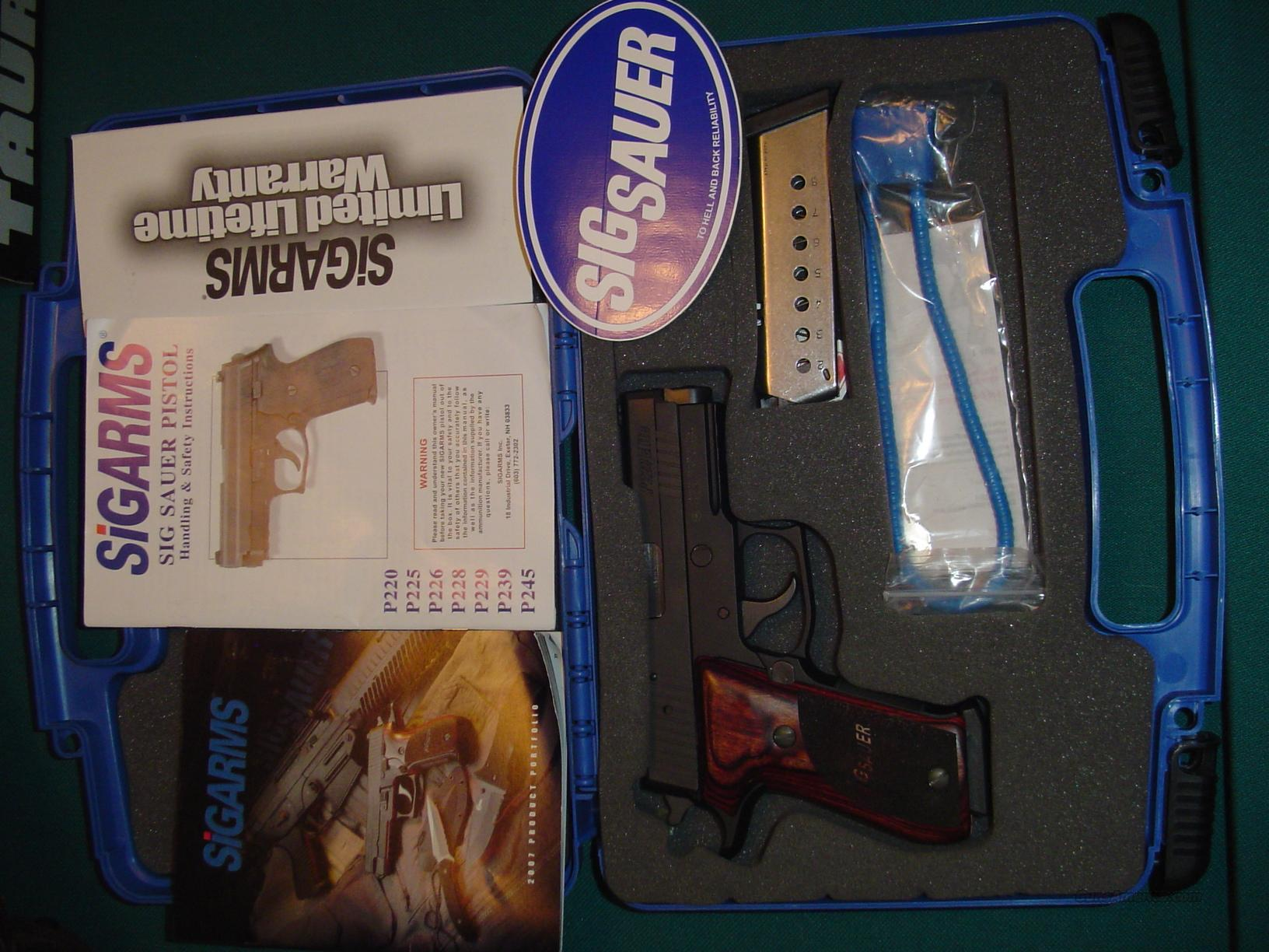 REDUCED AGAIN!   NIB SIG P220 ELITE WITH ROSEWOOD GRIPS--TOP OF THE LINE!!  Guns > Pistols > Sig - Sauer/Sigarms Pistols > P220