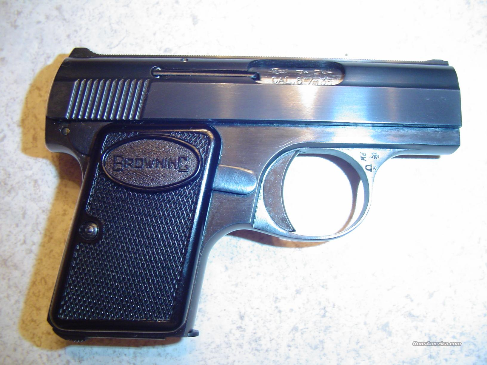 VERY NICE BLUED BABY BROWING!  Guns > Pistols > Browning Pistols > Baby Browning