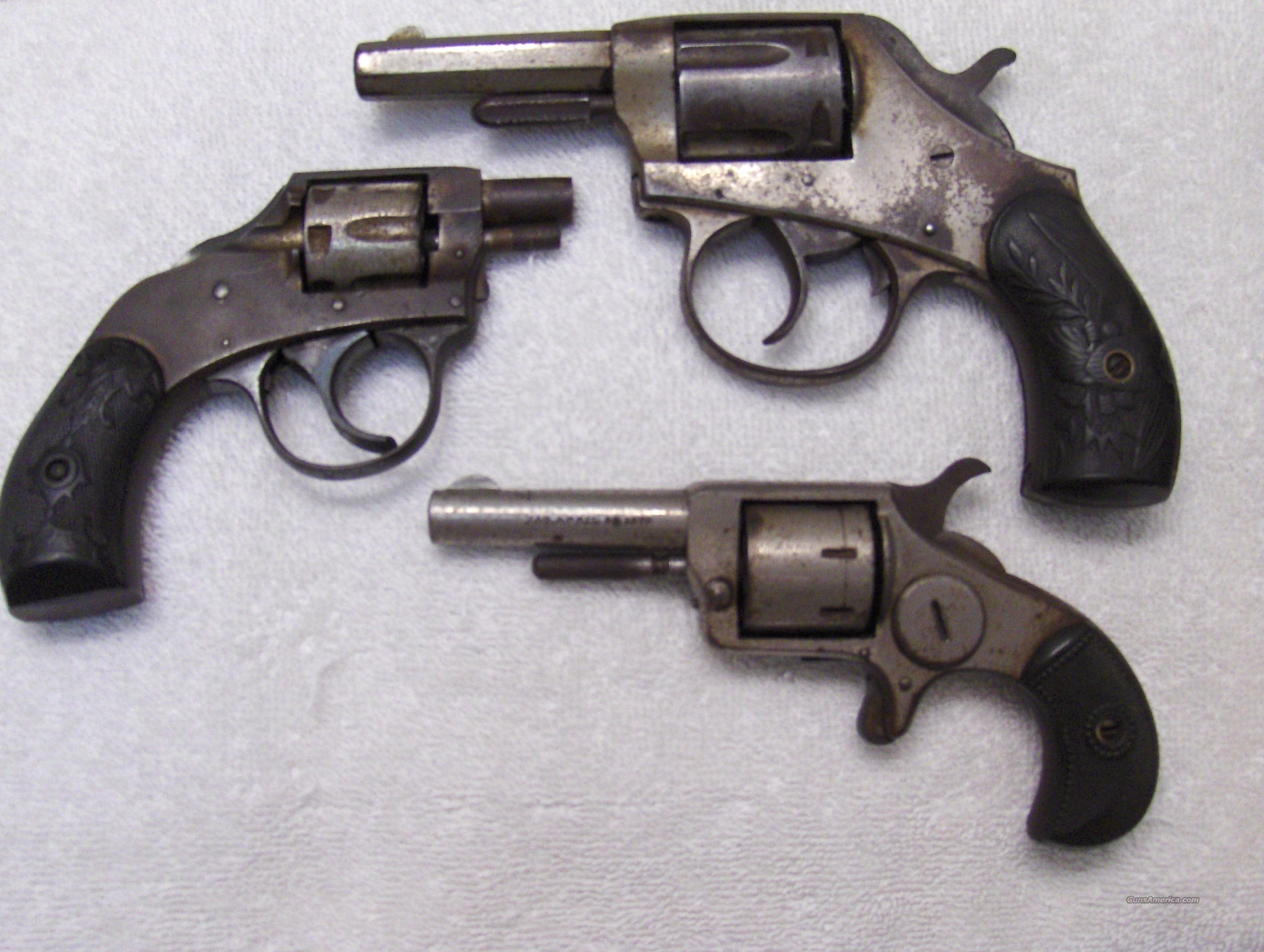 3 Unique Antique Pistols  Guns > Pistols > Antique (Pre-1899) Pistols - Ctg. Misc.