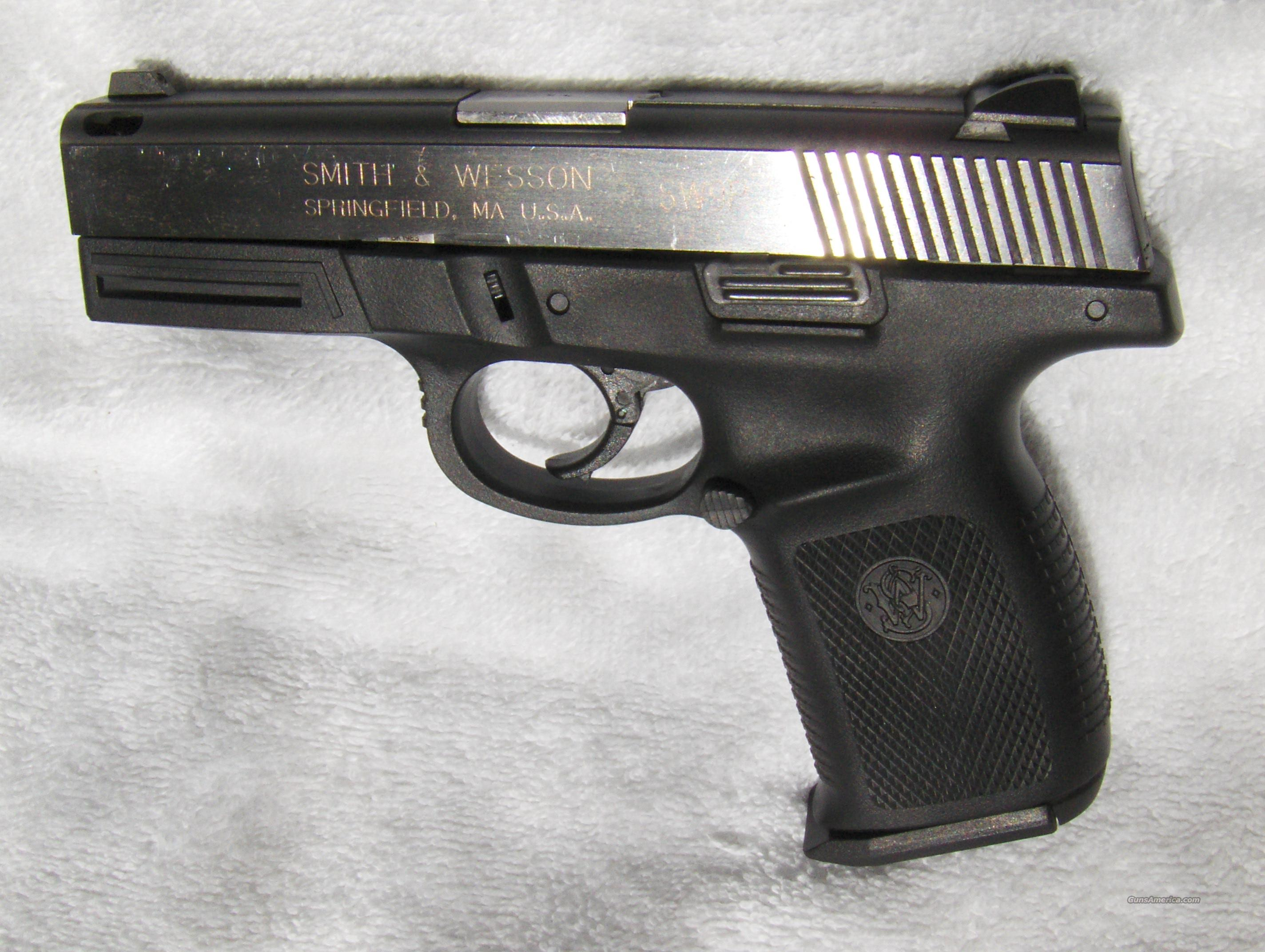 S&W SW9P 9mm Semi-Auto  Guns > Pistols > Smith & Wesson Pistols - Autos > Polymer Frame