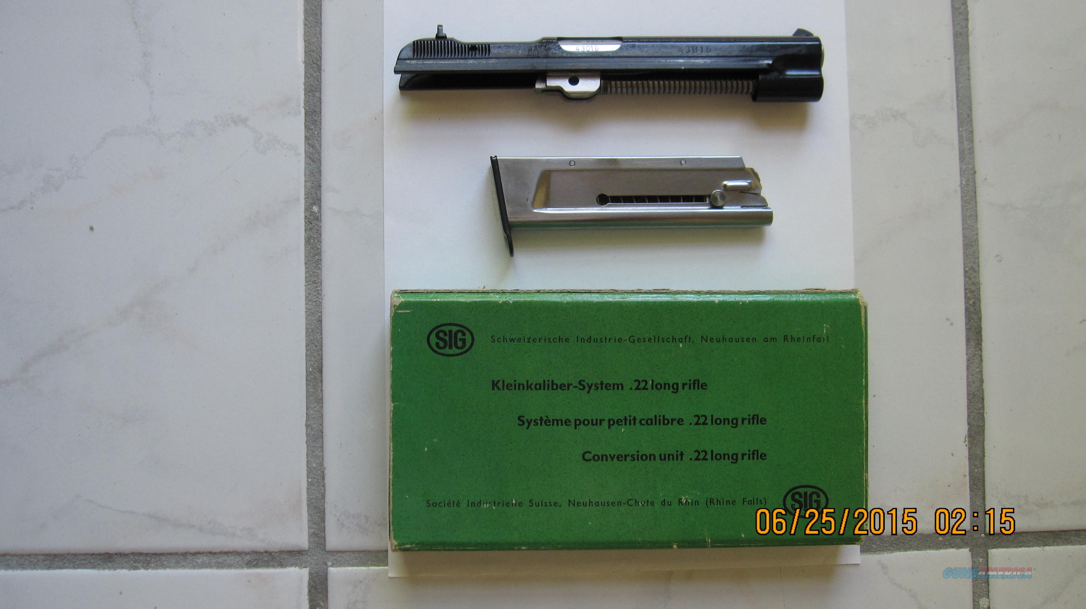 SIG P210 22lr Conversion Kit  Non-Guns > Gun Parts > Misc > Pistols