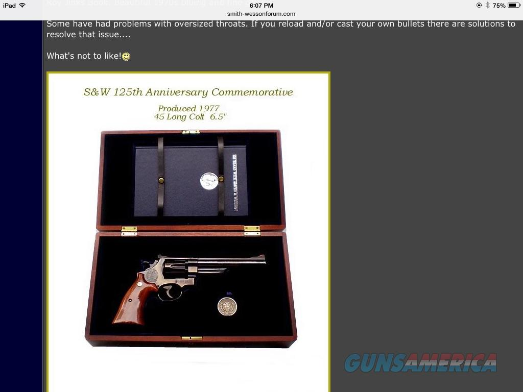Smith & Wesson 125 year anniversary.45  Guns > Pistols > Smith & Wesson Revolvers > Full Frame Revolver