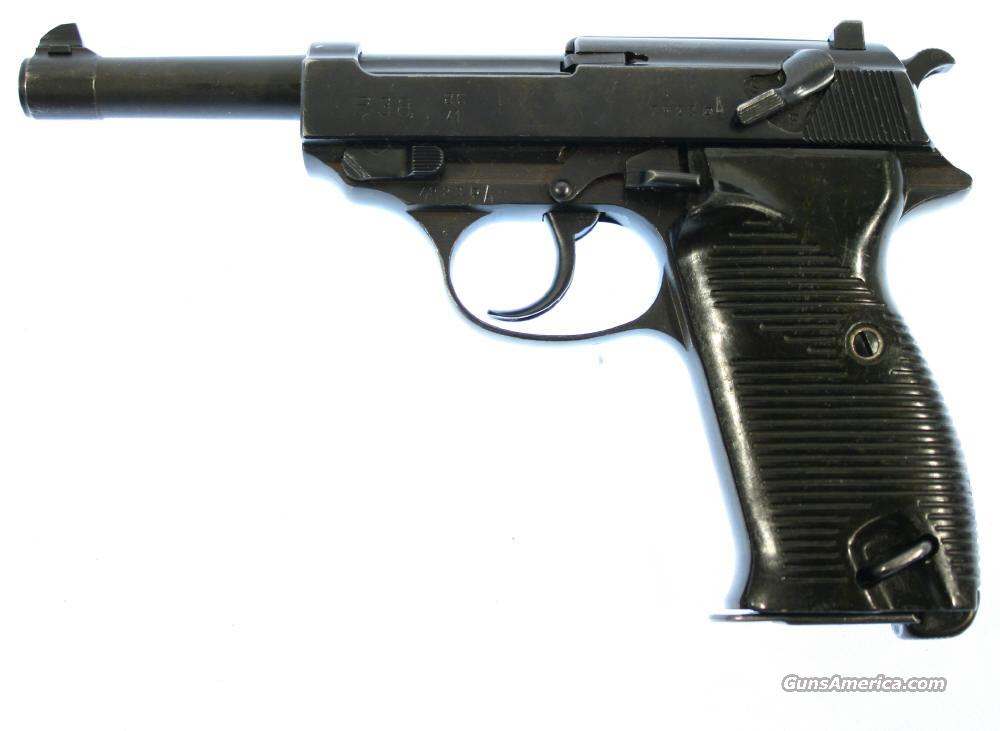 Walther P.38  Guns > Pistols > Walther Pistols > Pre-1945 > P-38