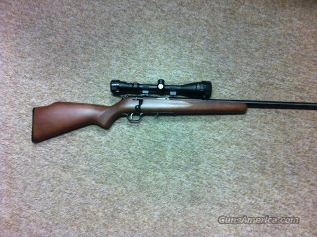 SAVAGE HMR 17 MODEL 93R17 WITH SCOPE  Guns > Rifles > Savage Rifles > Accutrigger Models > Sporting